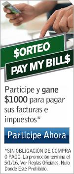 "Sorteo ""Pay My Bill"""